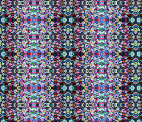 Colorful Leaves fabric by mur on Spoonflower - custom fabric