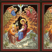 Nativity Icon Panel