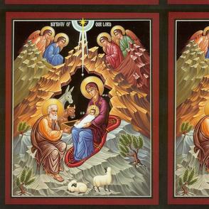 Nativity Icon Panel