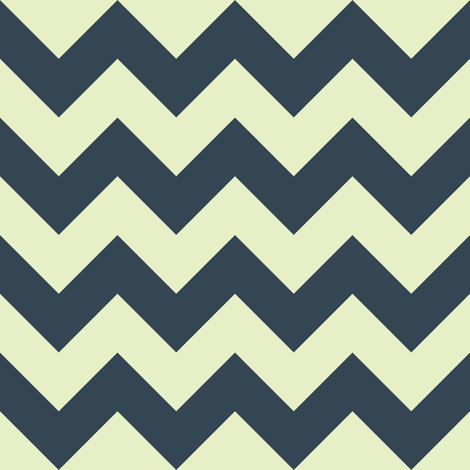 New York chevron fabric by scrummy on Spoonflower - custom fabric