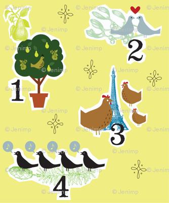 12 Days of Birds