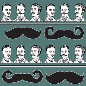 Mustache Stripe!