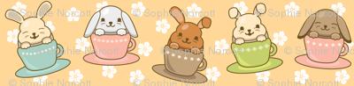 Buns in Teacups