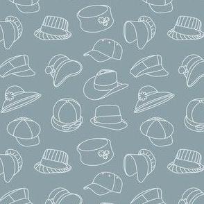 Vintage Hats Through Time (Grey)