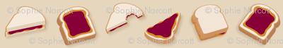 (Medium) Peanut Butter & Jelly Sandwiches