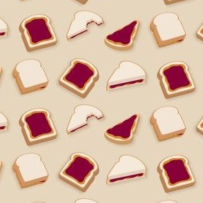 (Medium) Peanut Butter & Jelly Sandwiches