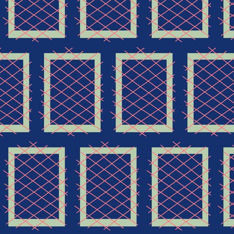Convent Windows fabric by boris_thumbkin on Spoonflower - custom fabric