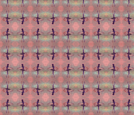 ballerinabluepink-ed-ed fabric by _vandecraats on Spoonflower - custom fabric