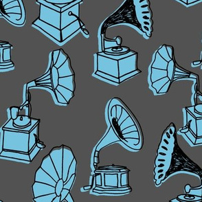Phonograph // vintage phonograph record player vintage colors