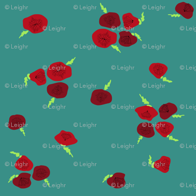 Poppies (blue)