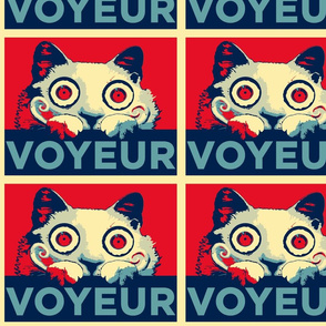 VOYEUR CAT Propaganda Large Size