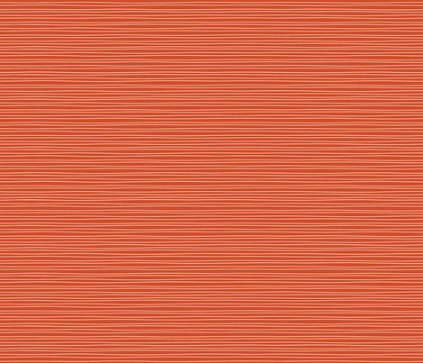 Blast wavy stripe on orange fabric by kamiekazee on Spoonflower - custom fabric