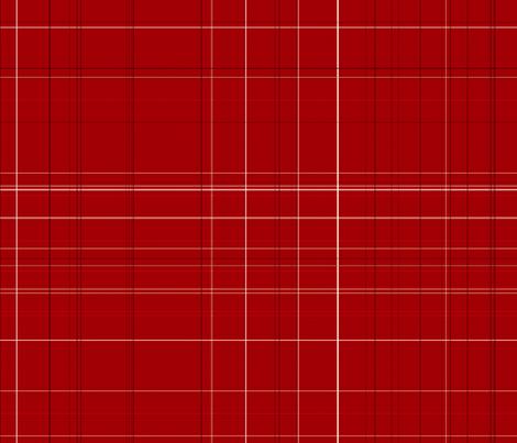 Apple Days red plaid fabric by kamiekazee on Spoonflower - custom fabric