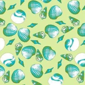 Shell-Mell - Tropical Seas-Seaweed