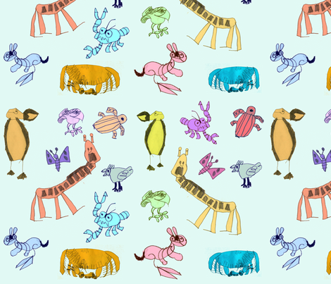 rafael_fabric fabric by daniellehanson on Spoonflower - custom fabric