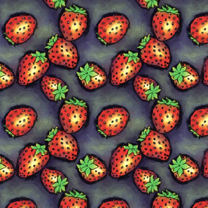 strawberries_fabric