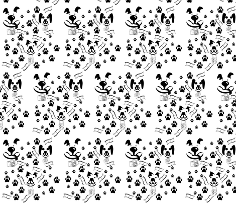 dogphotog fabric by tracydb70 on Spoonflower - custom fabric