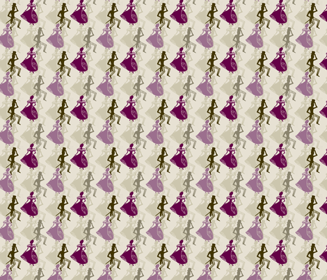 Dancers fabric by siya on Spoonflower - custom fabric
