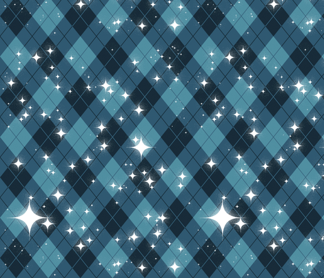 Stargyle fabric by felis_astrum on Spoonflower - custom fabric