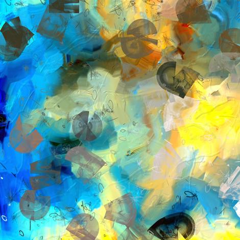Winter Blues fabric by mur on Spoonflower - custom fabric