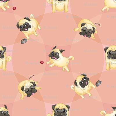 Pugs! (Pink)