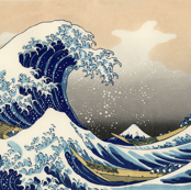 Great Wave off Kanagawa 42w 29h repeat
