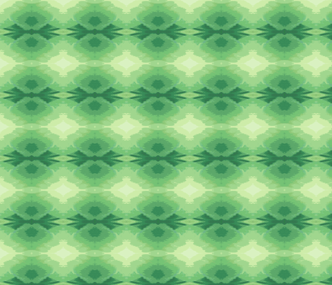 Glowing Green_Star B_image-ed-ch-ch fabric by khowardquilts on Spoonflower - custom fabric