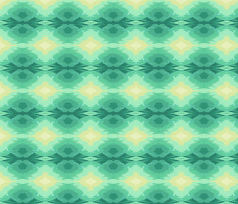 Glowing Teal_Star B2_image-ed-ch-ch-ch-ed-ch fabric by khowardquilts on Spoonflower - custom fabric