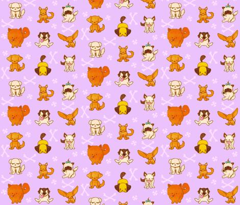 Dogs fabric by jadegordon on Spoonflower - custom fabric