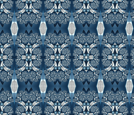 In the Cold Marble Halls-- Small fabric by winter on Spoonflower - custom fabric