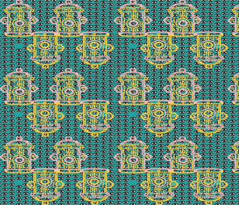 Andy Woofhol fabric by jackie_smith on Spoonflower - custom fabric