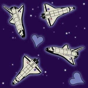 I Heart Space Shuttles