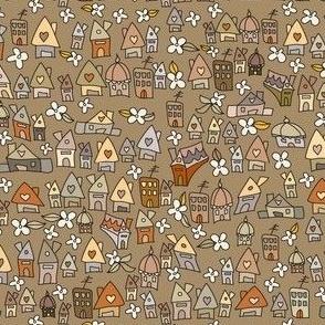 Autumnish houses