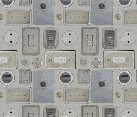 Melange Concrete fabric by ormolu on Spoonflower - custom fabric