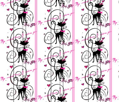 my_sweet_love #4 /stripe fabric by paragonstudios on Spoonflower - custom fabric