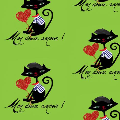 my_sweet_love #11 / pierre fabric by paragonstudios on Spoonflower - custom fabric