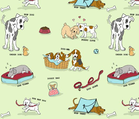 Rra_dogs_tale_-_fabric_tile_-_green_shop_preview