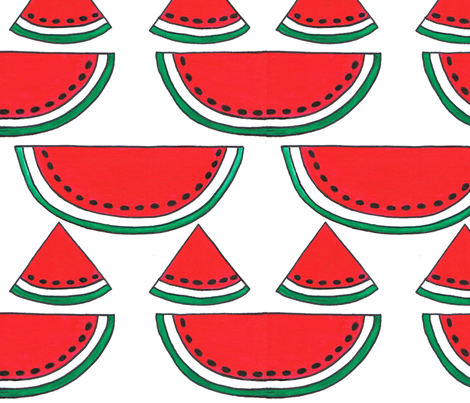 Watermelon_Fun fabric by joycemj on Spoonflower - custom fabric