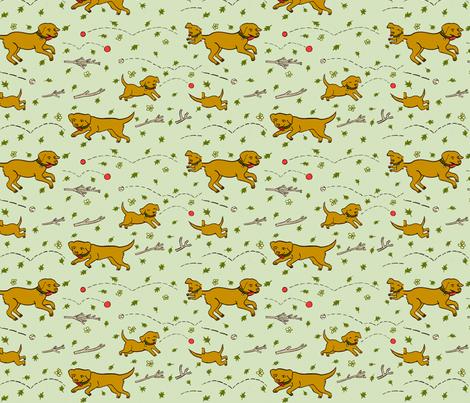 Fetch! fabric by 1stpancake on Spoonflower - custom fabric