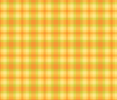 yellow and green plaid fabric by suziedesign on Spoonflower - custom fabric