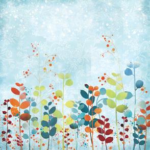 Swanky floral pattern