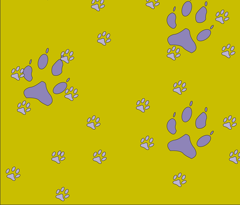 Dogs fabric by ulrikaln on Spoonflower - custom fabric