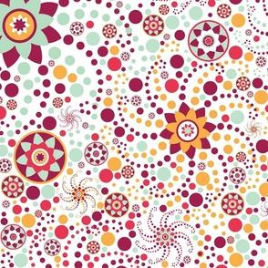 Serendipity Flowers & Dots