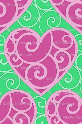 Pink Hearts 1