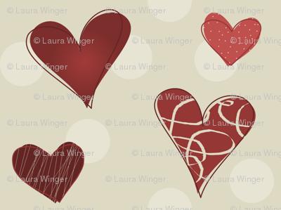 Hearty Scribbles 002