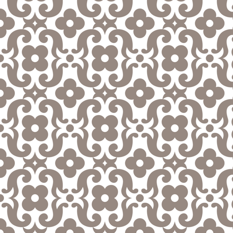 PANSYclay fabric by happysewlucky on Spoonflower - custom fabric