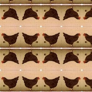 chicken strip natural mirror