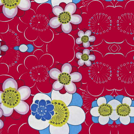 blommor2 fabric by snork on Spoonflower - custom fabric