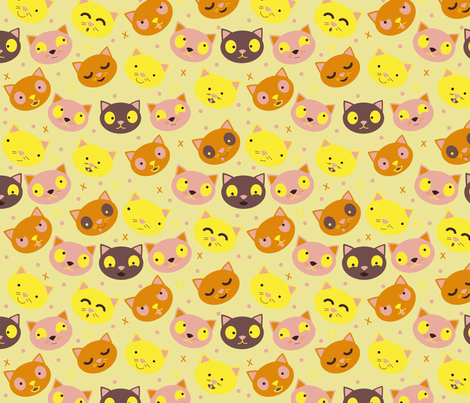 Ikati fabric by bellenoel on Spoonflower - custom fabric