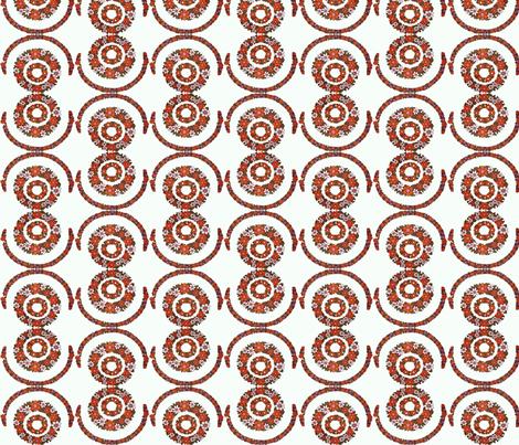 flower_circles fabric by snork on Spoonflower - custom fabric